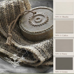 Painting the Past, Kleurkaart New Neutrals